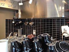 2×4 Black Heath Ceramics Tile, Tiles, Coffee, Black, Design, Room Tiles, Kaffee, Black People, Tile