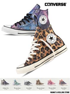 Converse. Need the leopard prints!