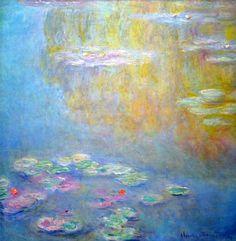 Claude Monet. Water Lilies (1908).