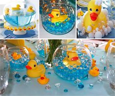 Ideas Baby Shower Ideas Rubber Ducky Gender Reveal Informations About Ideas Baby Shower Idea Ducky Baby Showers, Baby Shower Duck, Rubber Ducky Baby Shower, Elephant Baby Showers, Baby Shower Gender Reveal, Baby Shower Themes, Shower Ideas, Rubber Ducky Birthday, Rubber Ducky Party