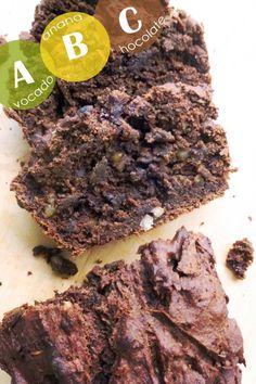 ABC Avocado Banana Chocolate Bread | Early Morning Oats
