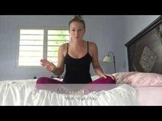 5 minute Morning Yoga! - YouTube
