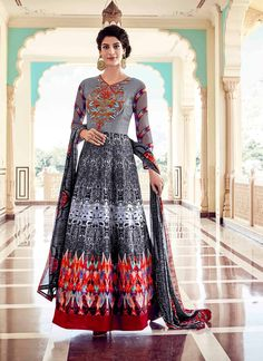 Buy Sterling Embroidered Work Anarkali Salwar Kameez, Online  #pakistanisuits #readymadesuits #anarkalisuits #anarkalifashion #anarkali #gorgeous
