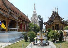 Wat Chedi Liam, Chiang Mai, Thailand