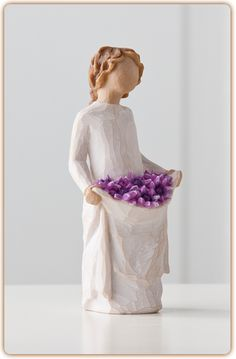 "Willow Tree Figurine-Simple Joys ""You're simply a joy in my life"""