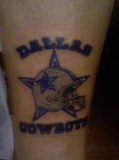 1000 images about dallas cowboys tattoos on pinterest for Dallas cowboys star temporary tattoos