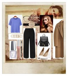"""""""B.N.B N°7"""" by marlinda212 on Polyvore featuring mode, Polaroid, Topshop, WithChic, OPI, Maybelline, Frency & Mercury, Barbour et Forever 21"""