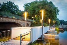 Die Ponton-Brücke am A2 ||| Bilder Foto Agentur Münster - FOTOSUCHEN.COM - Bildagentur Bilderdatenbank Fotos Münster - Professionelle Fotos aus Münster, Bilderdatenbank und weltweite Auftragsfotografie - FOTOSUCHEN.COM