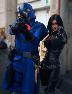 Cobra Commander and The Baroness by =RoyallyCrimson on deviantART
