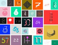 365 Days of Type by Sabrina Smelko via Behance