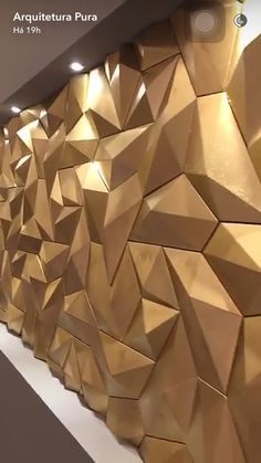 Wall paneling ideas lobby ideas for 2019 Interior Walls, Interior Design, Tv Wall Decor, Decorative Wall Panels, 3d Wall Panels, Wall Cladding, Creative Walls, Geometric Wall, Home Wallpaper