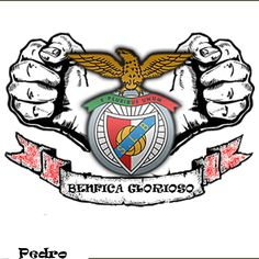 Benfica Logo, Benfica Wallpaper, Portugal Soccer, Tattoo Drawings, Tattoos, Image Fun, Club, Vignettes, Cool Stuff