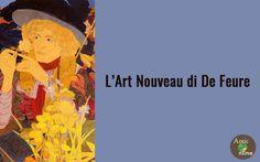 Approfondimento: Georges de Feure e l'Art Nouveau Georges de Feure è stato un artista versatile, attivo durante il periodo dell'Art Nouveau. Ha creato dipinti, mobili, porcellane, ceramiche, moquette, argenteria , gioielli ma anche illustrazioni e  #anticonline #artnouveau #arredamento