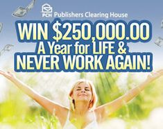 Never work again sweepstakes today