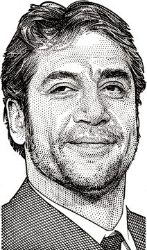 105 amazing stippling portraits; it's impossible to choose just one to represent them all. I wish drawing were my specialty. You should probably click on this link.
