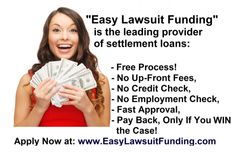 easylawsuitfu… Source by lawsuitfunding Need Cash Now, Dissertation Writing Services, Mortgage Companies, Mortgage Rates, Fast Cash, Credit Check, Get To Know Me, In Law Suite