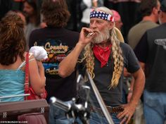 Willie Nelson at Sturgis 2012