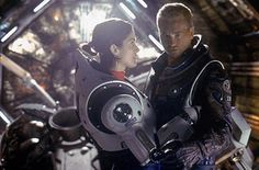Carrie-Anne Moss and Val Kilmer in Warner Brothers' epic romance adventure Red Planet - 2000 Benjamin Bratt, Val Kilmer, Science Fiction, Carrie Anne Moss, Cool Robots, Red Planet, Simon Baker, Warner Brothers, Film