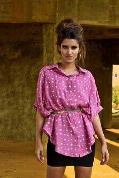 Camisa Mullet Estrelas $84 by Meliante