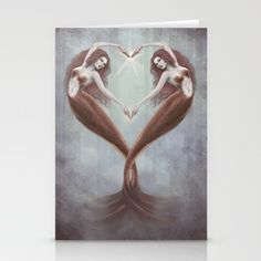 Heart Dance Stationery Cards
