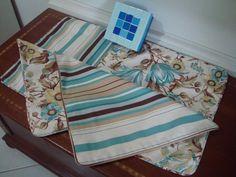 Almofadas turquesa para enfeitar sua sala!