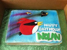 Angry Birds Space Cake  Caked cakepins.com