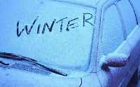 diy home sweet home: Did you know - Round Two  7. Tired of scraping ice off your windows each morning? Mix three parts vinegar to one part water in a spray bottle and spray on you window before bed. This link also has a few more amazing tips for winterizing your car so be sure to check it out.  http://www.homemademamas.net/2011/01/got-vinegar.html