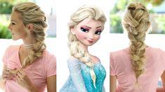 Frozen Elsa's Braid Hairstyle  #Hairstyle #FrozenElsaBraid