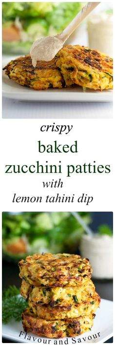 These Crispy Baked Zucchini Patties make a healthy, gluten-free, make-ahead meal. Get the instructions for properly draining zucchini to get crispy patties.