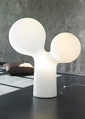 Double Bubble/Tuplakupla by Eero Aarnio Nordic Living, Nordic Home, Nordic Design, Scandinavian Design, 3d Panels, Black And White Interior, Home And Deco, Lamp Design, Light Decorations