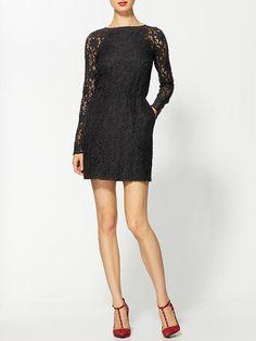 dolce vita lace sleeve dress