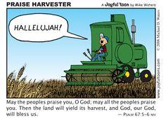 Praise Harvester - Joyful 'toons