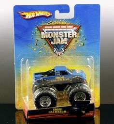 Amazon.com: IRON WARRIOR Hot Wheels Monster Jam Truck 1:64: Toys & Games