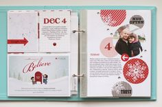 26 Beautiful Picture of Scrapbook Layouts December Daily . Scrapbook Layouts December Daily My Creative Corner December Daily Days 4 5 Project Life Christmas Journal, Christmas Albums, Christmas Scrapbook, Christmas Books, Christmas Photos, Christmas Ideas, Christmas Crafts, Project Life 6x8, Project Life Scrapbook