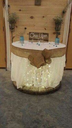 50 Unique Rustic Fall Wedding Ideas - Wedding Decorations, Lace Table Cloth with. 50 Unique Rustic Fall Wedding Ideas - Wedding Decorations, Lace Table Cloth with Lights Outdoor Wedding Decorations, Outdoor Weddings, Rustic Weddings, Country Weddings, Vintage Weddings, Wedding Rustic, Wedding Burlap, Burlap Lace, Burlap Ribbon