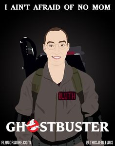 Flavorwire movie poster mash-up: Arrested Development and Ghostbusters