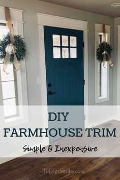 *This post may have affiliate links, which means I may receive commissions if you choose to purchase through links I provide (at no extra cost to you). Thank you for supporting the work I put into this site!If you know me even a little, you probably know that I love anything farmhouse! If money were […] Farmhouse Windows, Interior Windows, Farmhouse Diy, Farmhouse Interior, Farmhouse Doors, Farmhouse Flooring, House Trim, Farmhouse Trim, Interior Window Trim