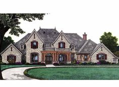 eplans french country house plan stunning european home is sure to please 4392 square