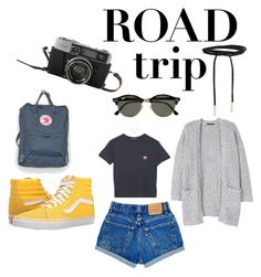 """Roadtrip❤💫"" by www-krawolle on Polyvore featuring Mode, Ray-Ban, Fjällräven, MANGO, Boohoo und Vans"