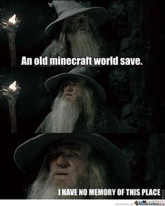 Old Minecraft World Save