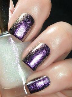 Duo chrome, franken nail polish pigment