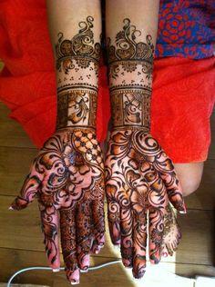 Bridal Mehndi for Jas :-) Mehandi Designs Latest, Indian Mehndi Designs, Unique Mehndi Designs, Mehndi Designs For Hands, Henna Designs, Mehndi Art, Henna Mehndi, Mehendi, Henna Palm
