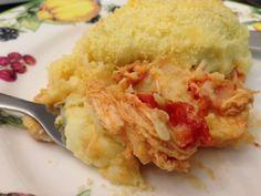 Escondidinho de Frango com Batata Doce - http://www.casarnaoengorda.com.br/recipes/escondidinho-de-frango-com-batata-doce/