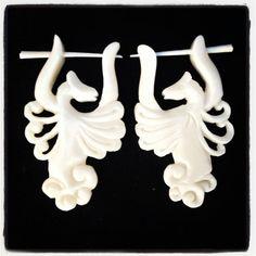 DRAGON DANCER: Water Buffalo Bone w/Peg for Regular Piercing on Etsy, $39.99