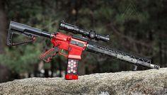Via @az_photo_man ・・・ The three gun rifle.  Now I just need to start doing three gun....