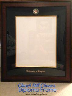 Church Hill Classics diploma frame #EarnItFrameIt #ad