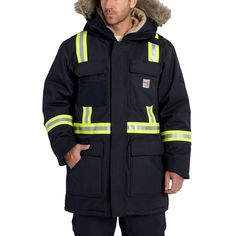 Flame Resistant Extremes Arctic Parka - The Brown Duck