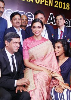 Bollywood actress Deepika padukone with her family