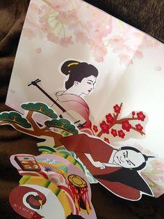 歌舞伎ポップアップカード :: しかけ絵本作家・ポップアップカード・ペーパークラフト作家のギャラリー|yaplog!(ヤプログ!)byGMO
