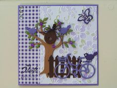 Marianne Design Cards, Bicycle Cards, Spellbinders Cards, 3d Cards, Garden Theme, General Crafts, Masculine Cards, Scrapbook Pages, Scrapbooking